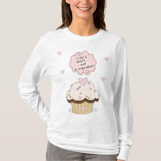 T-shirt Une consommation un petit gâteau