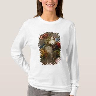 T-shirt Une disposition avec des fleurs, 19ème siècle