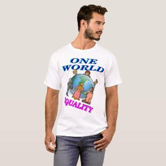 T-shirt Une égalité du monde