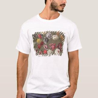 T-shirt Une étude des pivoines (huile sur la toile)