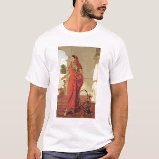 T-shirt Une fille de danse indienne avec un narguilé, 1772