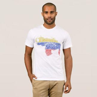 T-shirt une flanelle pour rappeler de d'où tu viens