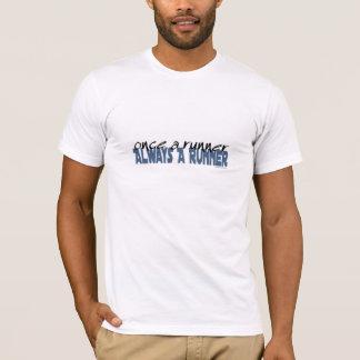 T-shirt Une fois un coureur