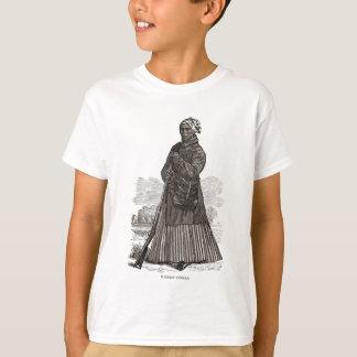 T-shirt Une image de gravure sur bois de Harriet Tubman,