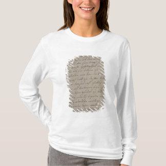 T-shirt Une lettre de Maria Theresa au Roi Frederick