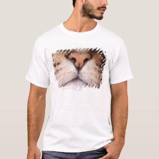 T-shirt Une macro image du nez et de la bouche d'un chat