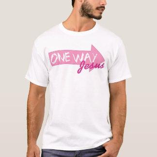 T-shirt Une manière - > JÉSUS