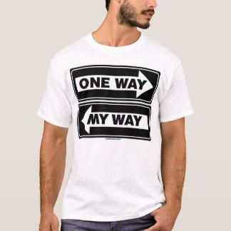 T-shirt Une manière - ma manière