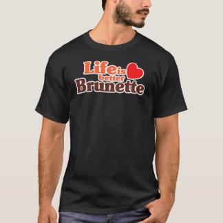 T-shirt Une meilleure brune