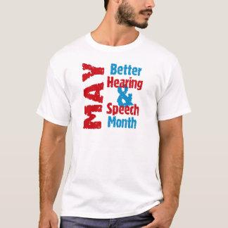T-shirt Une meilleurs audition et mois de la parole