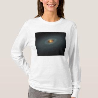 T-shirt Une paire serrée des étoiles et d'un disque