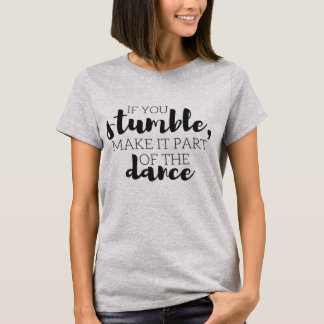 T-shirt Une partie de la danse