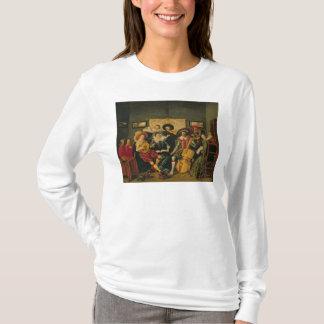 T-shirt Une partie musicale, c.1625