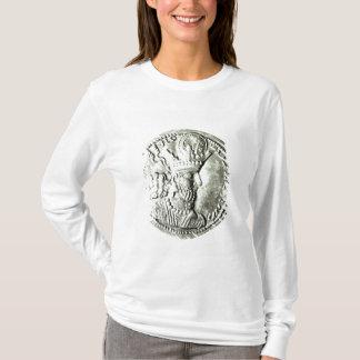 T-shirt Une pièce de monnaie dépeignant le profil de