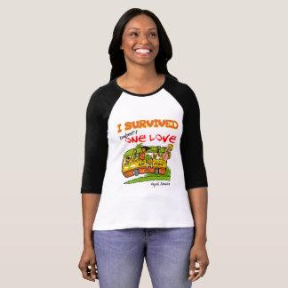 T-shirt Une pièce en t de Henley des femmes de rampement