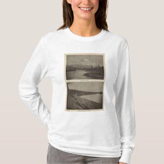 T-shirt Une plage plus pluvieuse de Mt Steilacoom