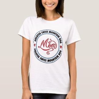 T-shirt Une PLUS GRANDE maman SUISSE de CHIEN de MONTAGNE