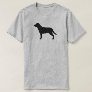 T-shirt Une plus grande silhouette suisse de chien de
