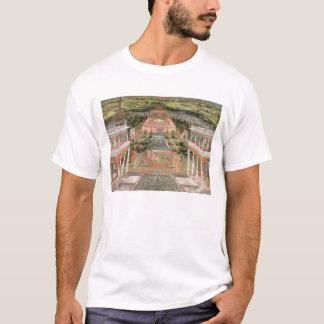 T-shirt Une princesse de Mughal dans son jardin (gouache