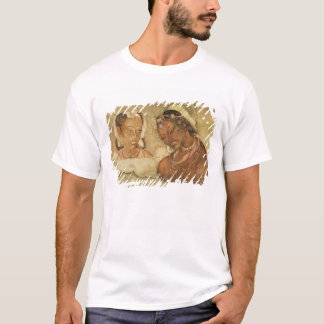 T-shirt Une princesse et son employé