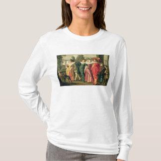 T-shirt Une promenade dans le jardin, c.1623