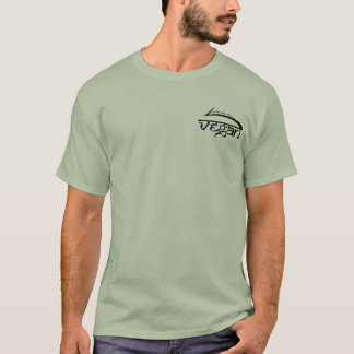 T-shirt une raison d'aller végétalien