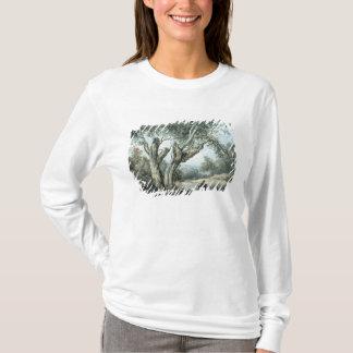 T-shirt Une route par la forêt de Windsor