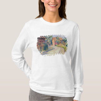 T-shirt Une rue de village