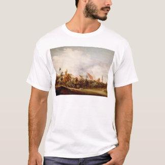 T-shirt Une scène de bataille, 1653