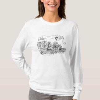 T-shirt Une scène du cortège triomphal de Maximilian