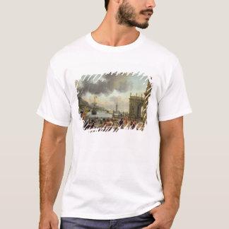 T-shirt Une scène méditerranéenne de port
