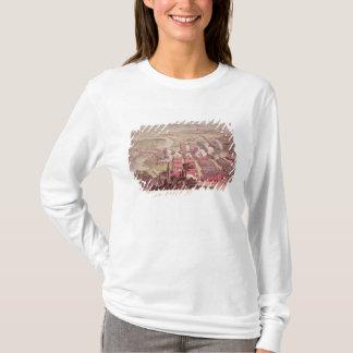 T-shirt Une vue de l'action glorieuse de Dettingen