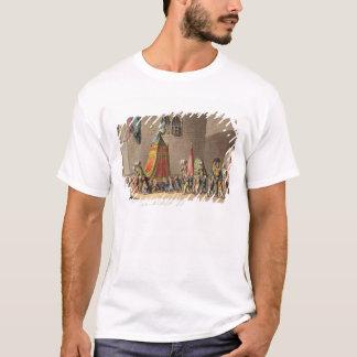 T-shirt Une vue du cortège grand du chameau sacré
