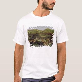 T-shirt Une vue du village de Tenniken, 1846
