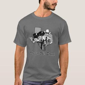 T-shirt Uni nous nous tenons