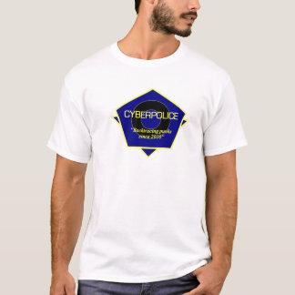 T-shirt Uniforme de fonctionnaire de police de Cyber