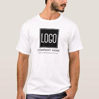 T-shirt Uniforme de logo d'affaires de publicité