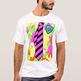 T-shirt uniforme scolaire fascinant au néon