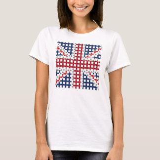 T-shirt Union Jack de dentelle