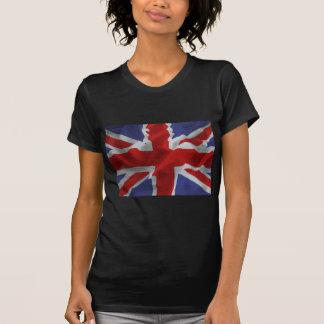 T-shirt Union Jack onduleux