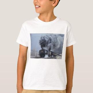 T-shirt Union Pacifique, no. 844 et no. 3985, victoire de
