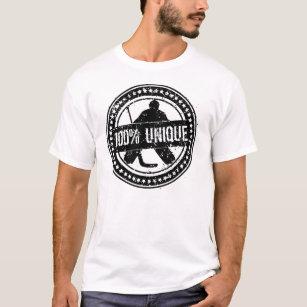 T-shirt unique de gardien de but d'hockey de 100%