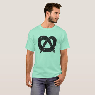 T-shirt unisexe de bretzel mou