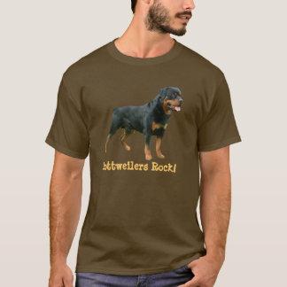 T-shirt unisexe de rottweiler