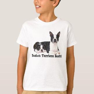 T-shirt unisexe d'enfants d'amis de Boston Terrier