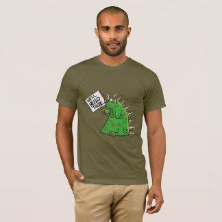 T-shirt unisexe d'habillement américain foncé de