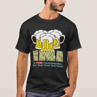 T-shirt Unité de disposition de bière