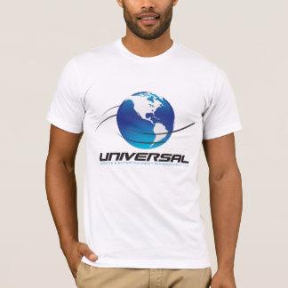 T-shirt universel de logo - blanc