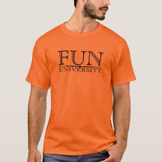 T-shirt Université d'amusement cachée signifiant la pièce