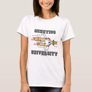 T-shirt Université de la génétique (reproduction d'ADN)